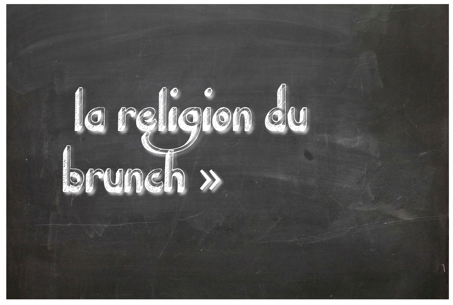 la religion du brunch