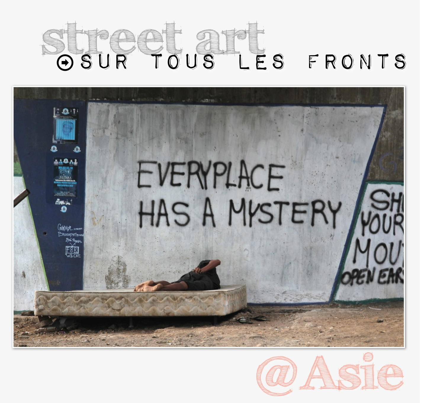 street art asie photographie graffitis